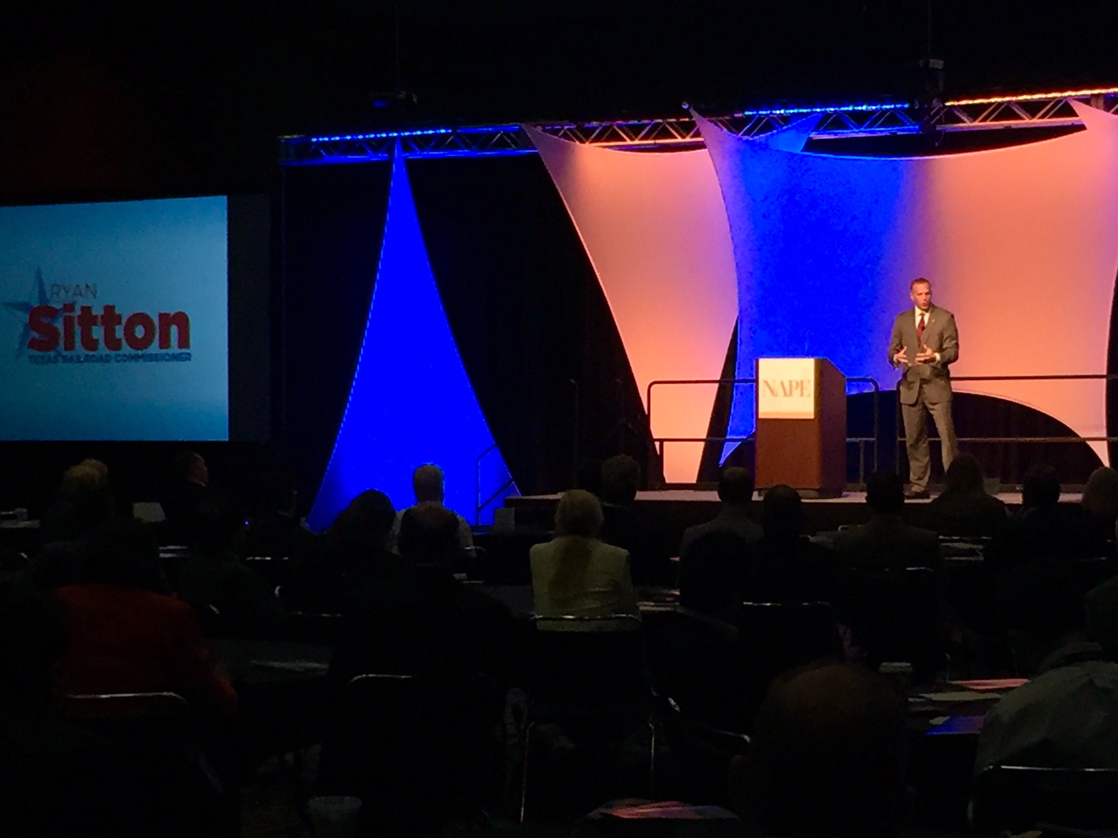 Sitton speaking at NAPE