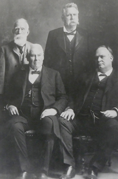 John H. Reagan, James S. Hogg, L.L. Foster and W.P. McLean